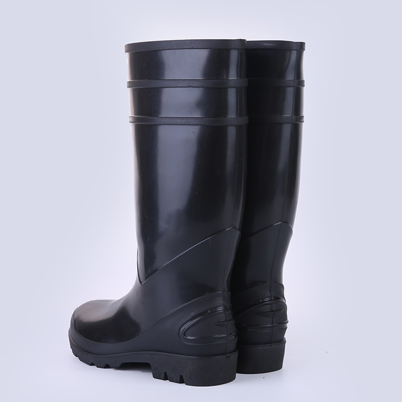 Labor Safety Rain Shoes Anti-smashing And Anti-penetration Gong Kuang Xue Africa Rainy Season Acid And Alkali Resistant Rain Sho