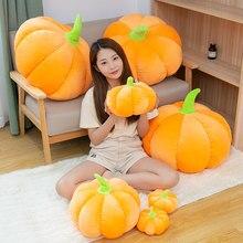 Bambola di zucca di Halloween giocattolo di piante farcite realistico classico zucche puntelli di festa decorazioni per la casa festa regalo per bambini 20/30/40/60/70cm