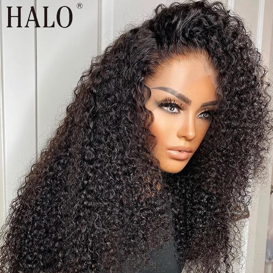 Brasileño de la onda profunda 28 30 40 pulgadas barato 13x4 frente de encaje pelucas de cabello humano rizado arrancado Glueless peluca Frontal negro mujeres Remy