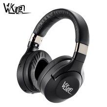 VVKing 능동형 소음 차단 무선 Bluetooth 헤드폰 게임용 Bluetooth 헤드셋 음악 HiFi Deep Bass 헤드폰 컴퓨터