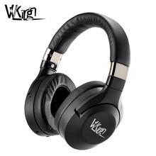 VVKing auriculares inalámbricos con Bluetooth con cancelación activa de ruido, auriculares HiFi de graves profundos con Bluetooth y música para ordenador