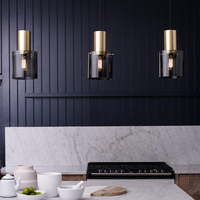 Modern Italian design minimalist pendant light creative lron LED hanging light for living room bedroom bedside lamp kitchen e27