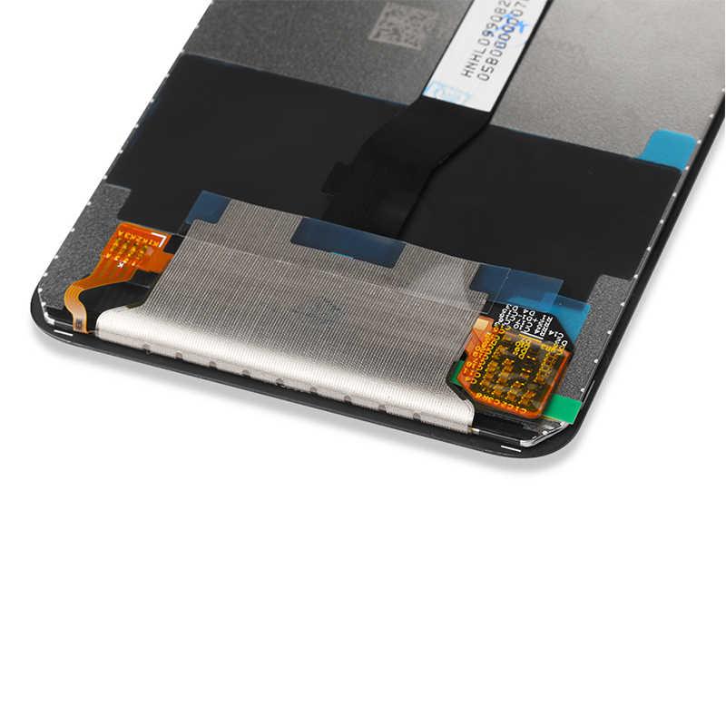 Tampilan untuk Xiaomi Redmi Note 8 Pro LCD Layar dengan Bingkai Digitizer Touch Pengganti untuk Redmi Note8 Pro Versi Global LCD