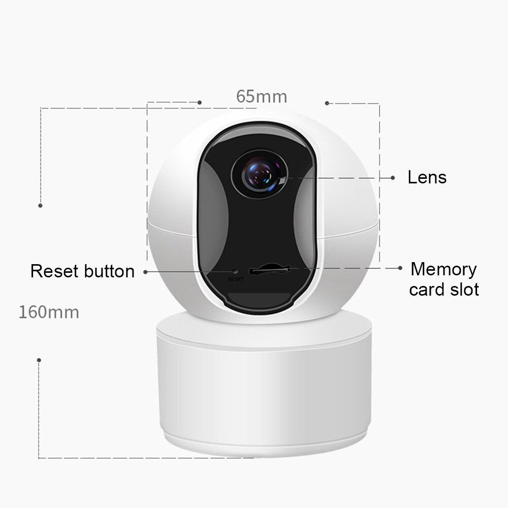 IR moniteur caméra de mouvement infrarouge Vision nocturne TF 128G détection humaine 800W/400W 4K PTZ caméscope téléphone photographie à distance sûr