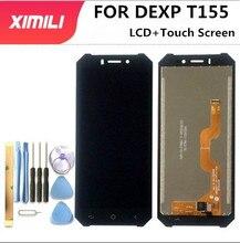 5.5 pollici PER DEXP T155 Display LCD + Touch Screen Digitizer Assembly Originale di 100% Nuovo LCD + Touch Digitalizzatore di Colore con Strumenti di Nastro