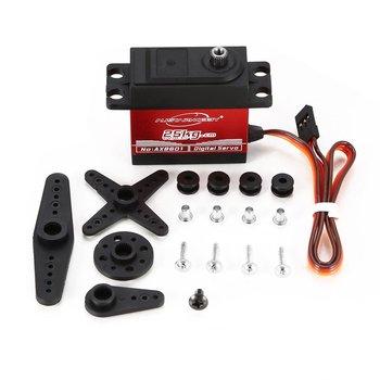 AUSTARHOBBY AX8601 4 8-6 0V 25KG 0 15 Sec 60 wodoodporny moment obrotowy pełny serwomechanizm cyfrowy z metalowymi zębatkami do zdalnie sterowane zabawkowe samochody akcesoria części tanie i dobre opinie CN (pochodzenie) Klasa montażu Core motor Serwa 56X20X40mm Pojazdów i zabawki zdalnie sterowane NONE MONTAŻ Vehicles Remote Control Toys