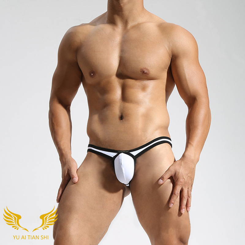 Male Underwear Men's Underpants Sexy Underwear Men Sexy Breathable Low Waist Jockstrap Thong Man Thong Panties