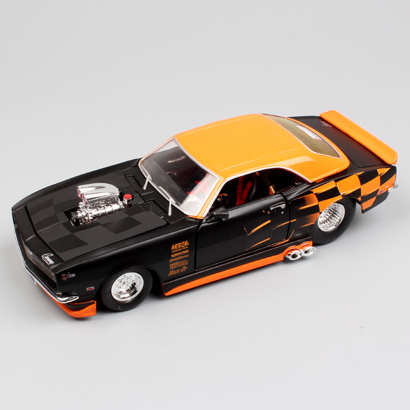 Kids 1/24 Scale Maisto Classic 1968 Chevrolet Camaro Z28 Custom Diecast Auto Tuning Car Model Toys Chevy Vehicles Of Collection
