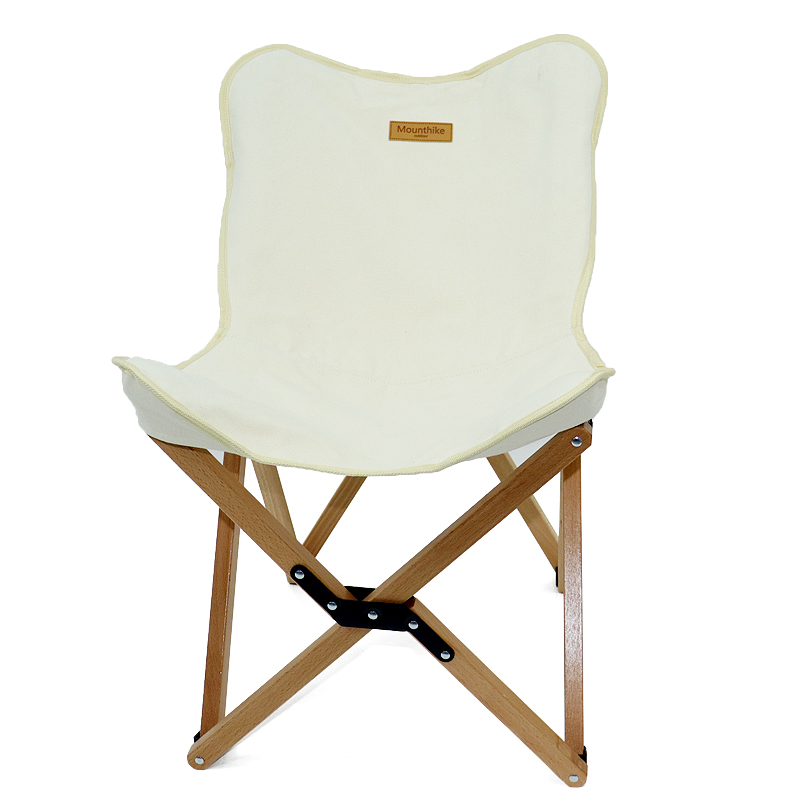 Portable Beech Wood Folding Chair for Fishing Outdoor Camping