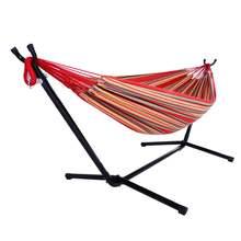 Портативный гамак наружный полиэстер костюм красный (включая
