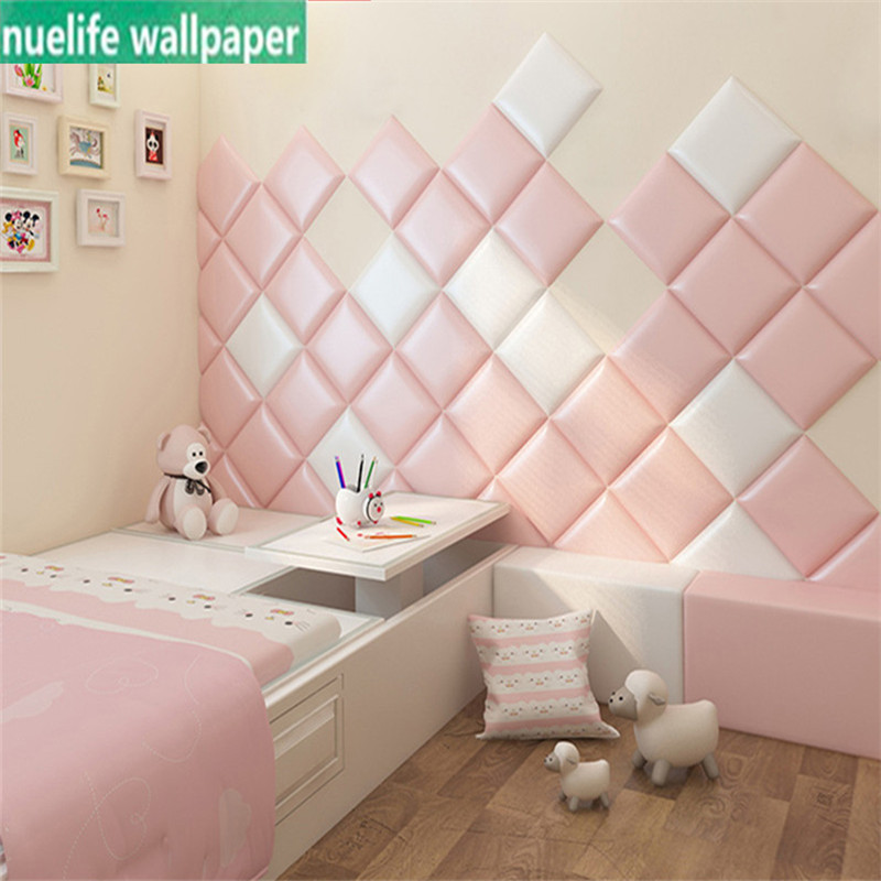 Square 3d Cartoon Wall Stickers Children's Room Anti-collision Soft Wall Wall Bed Tatami Bedroom Decoration Wall Stickers
