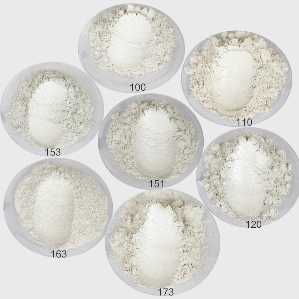 50g White Pearl Powder Mineral Mica Powder In DIY Soap Craft Painting Car Cosmetic Dye Acrylic Paint Pigment Powder Coating