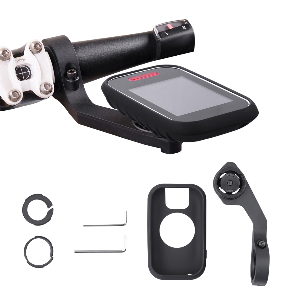 For 31.8/25.4mm Handlebars Bicycle <font><b>Bike</b></font> MTB <font><b>Computer</b></font> <font><b>GPS</b></font> Protect Case Protective Silicone Case for <font><b>GPS</b></font> Polar V650 image