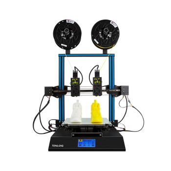 TENLOG TL-D3 PRO 3D Printer with Dual Material Printing Mirror Printing and Touch Screen