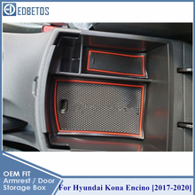Armrest Box For Hyundai Kona Encino 2017 2018 2019 2020 Accessories Center Console Container Tray Holder Stowing Tidying