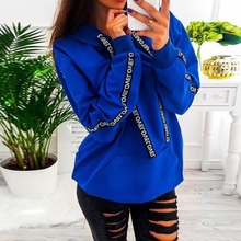 2019 Ladies Four Color Casual Street Daily Pullover Jumper Tops S-5XL Hot Womens Long Sleeve Hoodie Sweatshirt Hooded Tops four tops gateshead