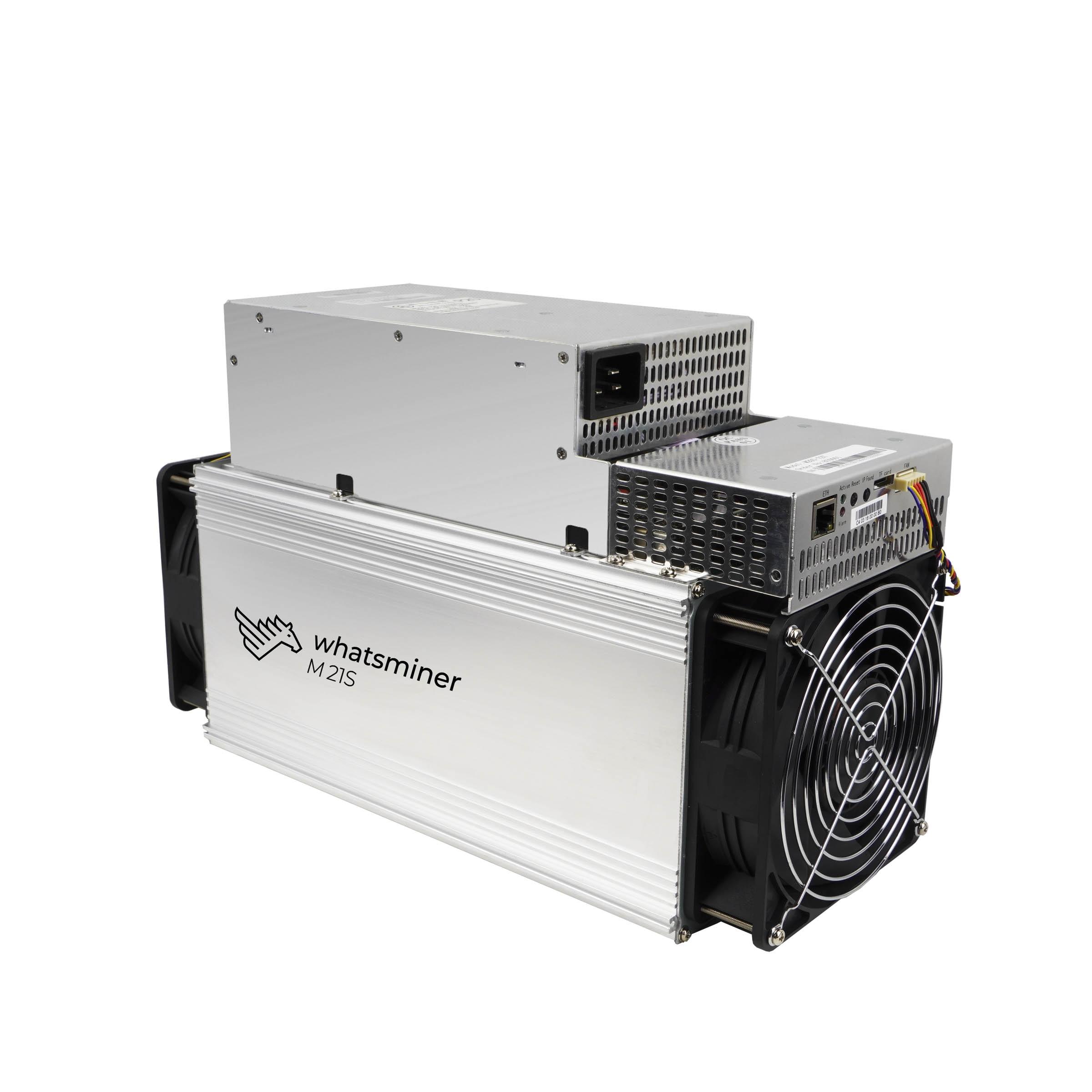 Nouveau BTC BCH mineur what sminer M21S 56T avec PSU Bitcoin Miner économique que Antminer S9 S11 S15 S17 S17 Pro T17 what sminer M3