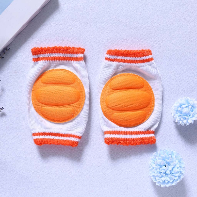 Kids Kneecap Breathable Knees Protector Crawling Leg Pads Elbow Cushion Toddlers