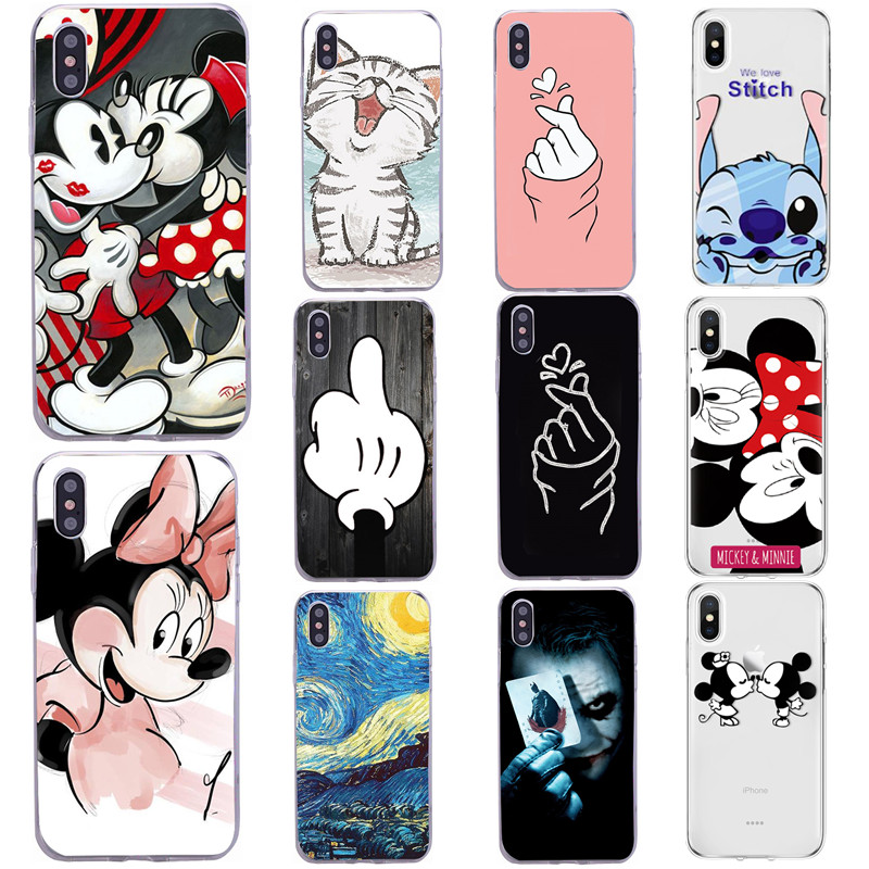 Silicone Phone <font><b>Case</b></font> For <font><b>iphone</b></font> <font><b>X</b></font> <font><b>XS</b></font> MAX XR <font><b>Cases</b></font> for <font><b>iphone</b></font> 6 6S 7 8 Plus 5 SE Coque Etui <font><b>Bumper</b></font> Back Cover Protective Soft TPU image