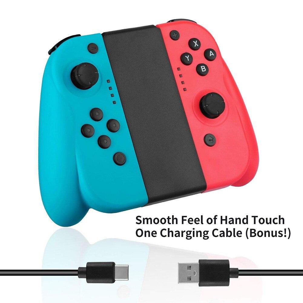 Drahtlose Bluetooth Spiel Gamepad Controller für Nintend Schalter Links Rechts Freude Griff Grip con Spiel Controller für Nintend Schalter