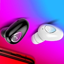 Mini Wireless Bluetooth Earphones Phone Receiver Headset Fre