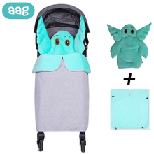 AAG Baby Stroller Accessories Windproof Waterproof Cover Blanket Infant Receiving Children Pram Swaddle