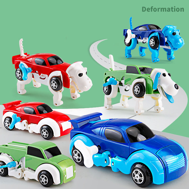 Clockwork Chariot Toy - Puppy Transformation