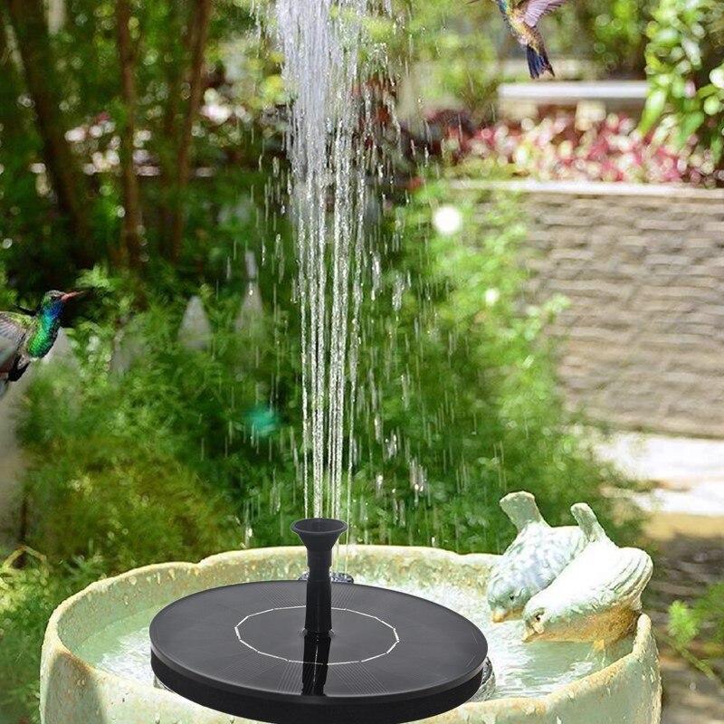Fontanna solarna zasilana energią słoneczną pompa fontannowa fontanna basen ogrodowy Panel słoneczny fontanna pływająca fontanna oczko wodne fontanna