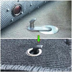 Image 5 - Clips de sol de voiture, 10 pièces, support de prise en main, pinces de fixation, crochets, fixation, pour Toyota Hilux Vios Avanza Innov