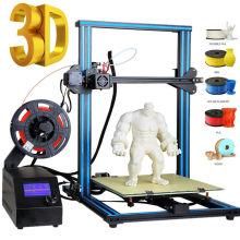 CTC Impresora 3D Large Size  Aluminum frame Dual Z rod Resume Printing 30cm*30cm*40cm Printer UK USA Stock
