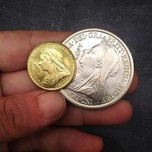 2 шт 1887-1892 Королева Великобритании Виктории монархин копии монет Коллекционная медь копия британская монета