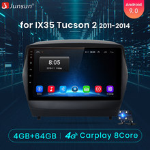 Junsun 4G + 64G CarPlay DSP Android 8,1 auto Radio Multimedia reproductor de Audio para Hyundai ix35 Tucson 2 2011 LM 2012 de 2013 DVD(China)