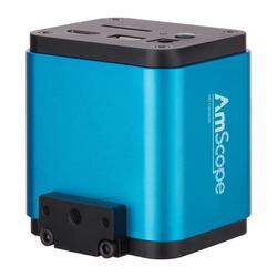 1080p 60fps HDMII + Wi-Fi Color CMOS automatyczna ostrość AmScope mikroskopowa kamera z 5MP przechwytywanie zdjęć do samodzielnego i komputerowego obrazowania