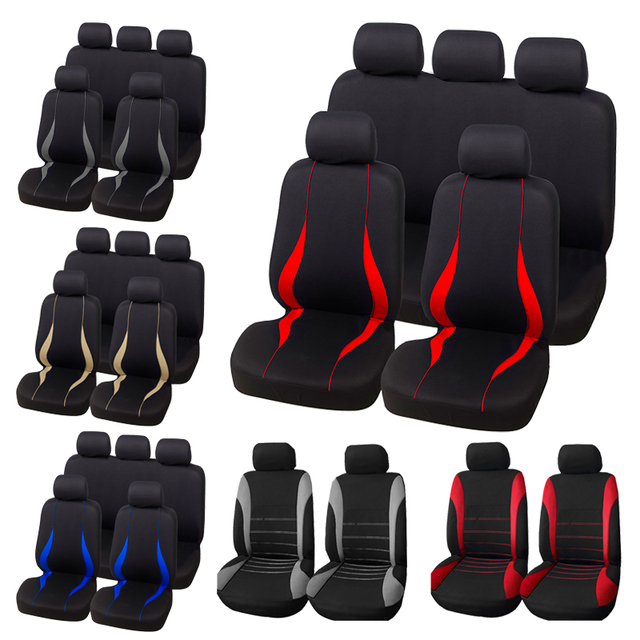 AUTOYOUTH Full Set Car Seat Cover Protect Covers For Universal Autos For Kalina Grantar For Lada Priora Renault Logan ford focus