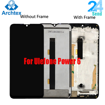 For Original Ulefone power 6 LCD Display +Touch Screen Digitizer Assembly Replacement 6.3 inch 19.5:9 Android 9.0