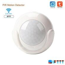 Wifi Smart Leven Batterij Aangedreven Tuya Pir Motion Sensor Detector Alarmsysteem Werken Met Ifttt