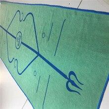 Линия положения тела коврик для йоги полотенце анти-скольжение Высокая температура йога покрытие тело позиция линия вторичная Йога крышка