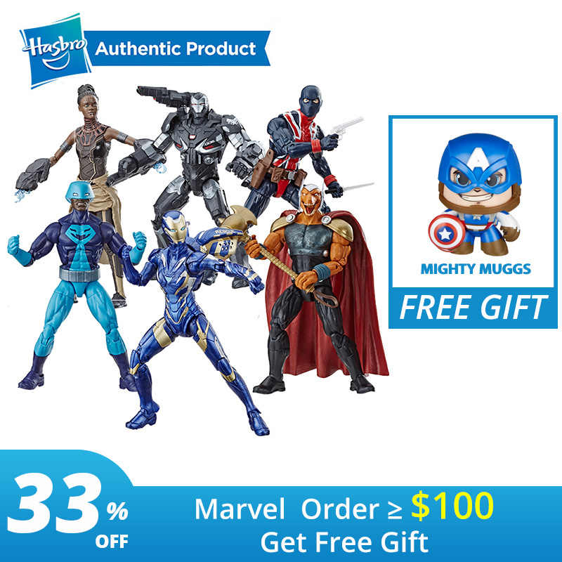 Hasbro Marvel Avengers Marvel Legends Série Endgame de Resgate das 6-Polegada Collectible Action Figure Toy Potts Pimenta Máquina de Guerra