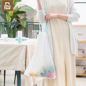 Image 4 - Youpin JieZhi שרוך אשפה שקית אשפה תיק לעבות חומר למנוע דליפה ביתי פלסטיק אשפה תיק 20pcs /1 רול