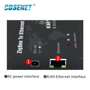 Image 3 - وحدة إرسال واستقبال البيانات اللاسلكية ، CC2530 ZigBee Ethernet ، 27dBm TCP UDP ، بعيد المدى ، شبكة مخصصة 500mW ، جهاز إرسال واستقبال