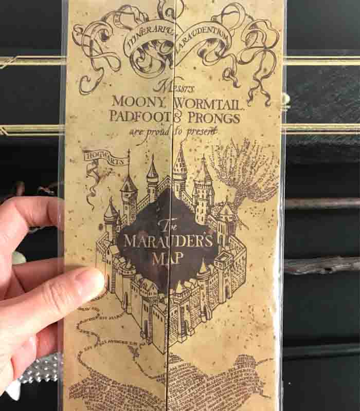 Potters The Marauder's Map Wizard School Ticket Students Harried Collection Gifts Fans Party Deathly Hallows Necklace