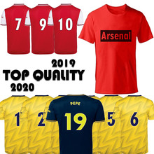 2019/2020 King of London Camiseta модная мужская одежда футболка S-2XL Arsenal 1886 Home Out Third Tops Jersey(China)
