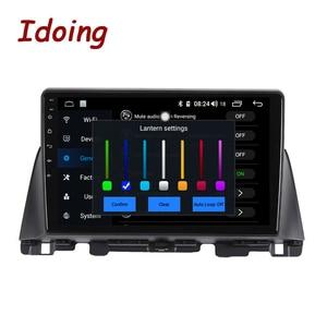 Image 3 - Idoing Radio Multimedia con GPS para coche, Radio con reproductor, Android GPS para coche, 10,2 pulgadas, navegador, no 2 din, DVD, para Kia K5 Optima 3 TF 2003 2012