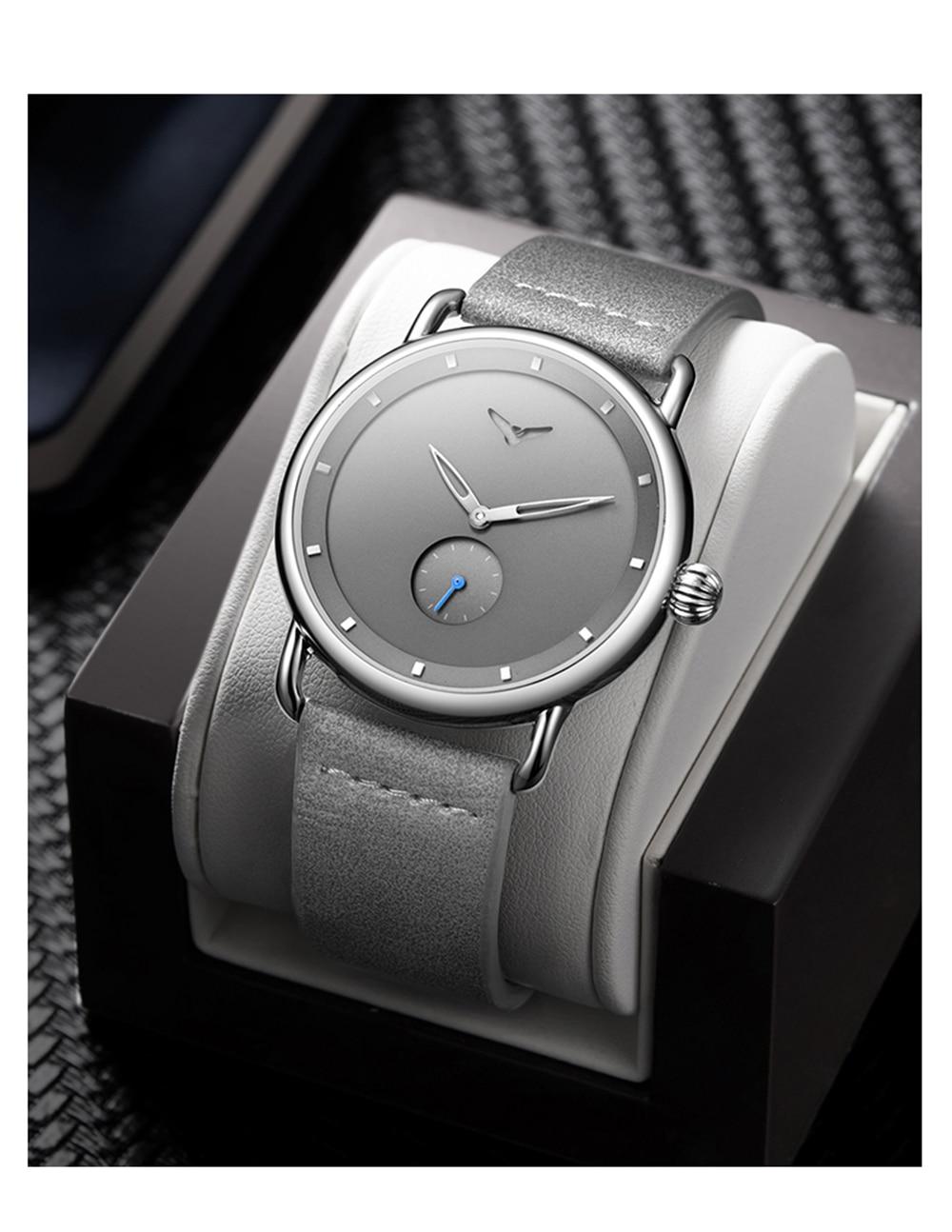 He878ac4cf6de4d18b928a626b00018d0f ONOLA top brand leather men watches clock fashion sport simple casual waterproof Wrist watch men relogio masculino