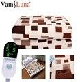 180x150 termostato eléctrico manta impermeable doble cuerpo calentador cama de invierno colchón alfombra climatizada eléctrica