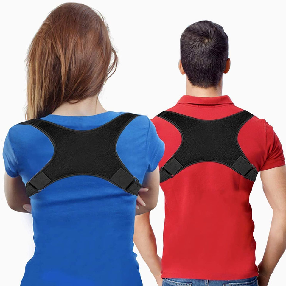 Posture Corrector Adjustable Back Fracture Support Men/women Back Clavicle Spine Shoulder Correction Brace Belt Strap
