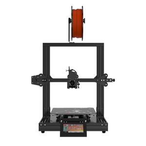 Image 4 - Hiprecy LEO 1S 3D Printer Magnetic Heatbed ALL Metal Printer Support 1.75mm PLA I3 DIY KIT Hotbed Dual Z axis TFT Screen ender 3