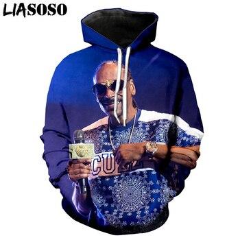 Hip Hop Singer Hooded sweatshirt husband Tracksuit Snoop Dogg Rapper 3D Print Graphic Men's Hoodies Women men clothes Pullover benxsea 3d sweatshirt men women ramen noodle soup print sweatshirt funny pork chicken beef hip hop hooded sweatshirt