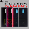 Новинка, задняя крышка батарейного отсека для Xiaomi Redmi K20 Pro Mi 9T Pro, Задняя стеклянная крышка корпуса для RedMi K20 Pro, сменная Крышка батарейного от...