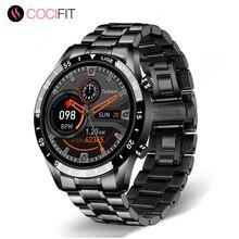 ساعة ذكية مع مكالمات بلوتوث للرجال ، ساعة رياضية مستديرة بشاشة تعمل باللمس للرجال ، موديل جديد 2020